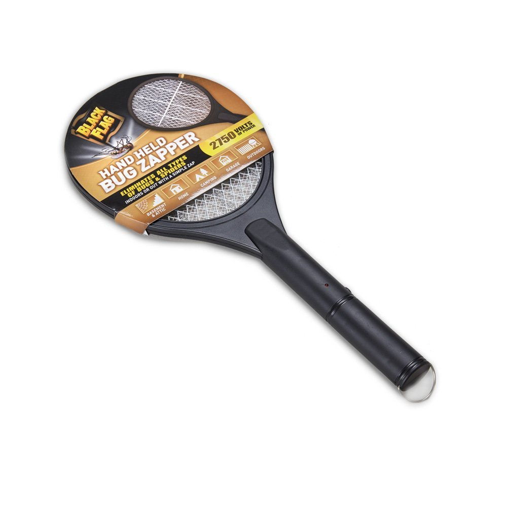 black flag electric fly swatter