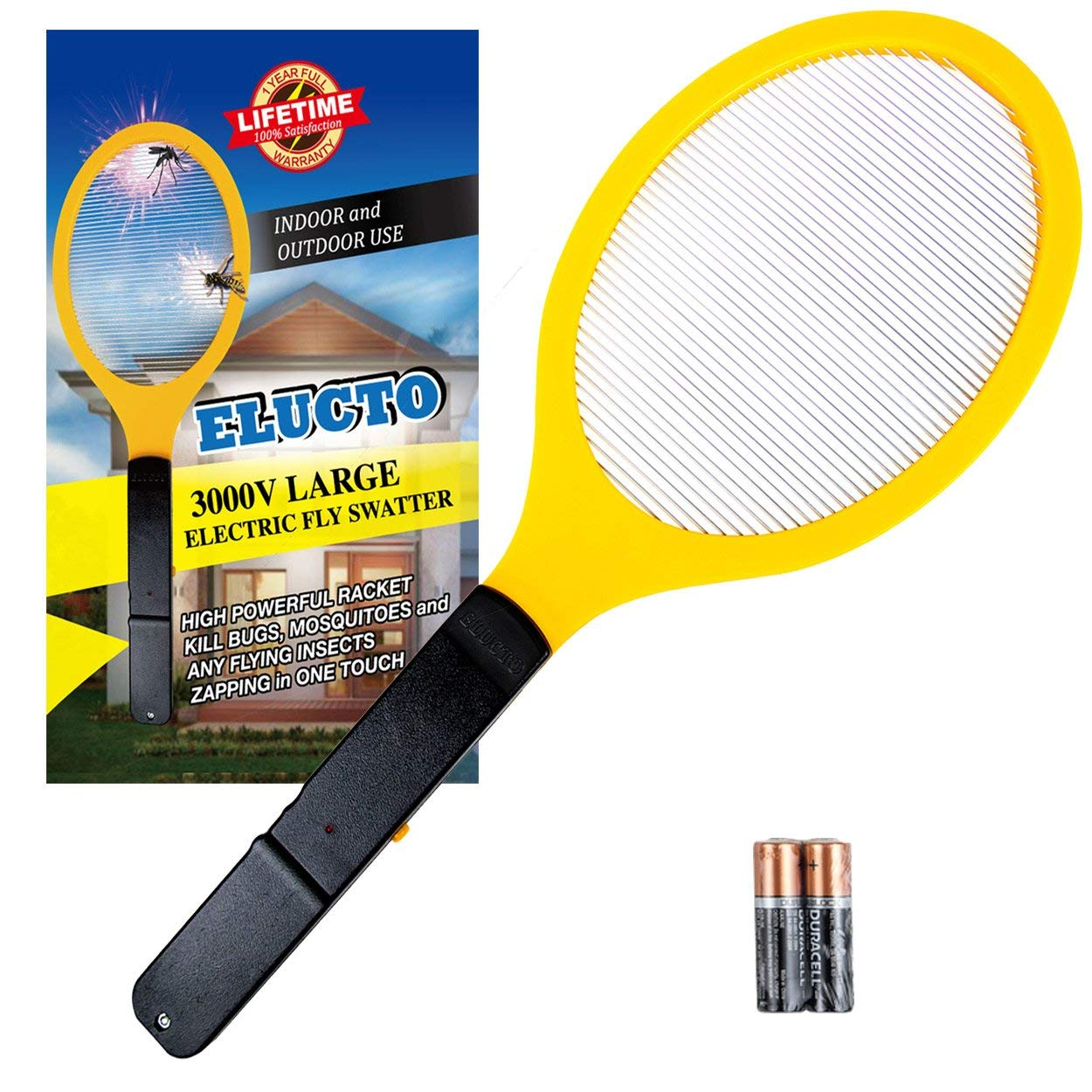 elucto electric fly swatter