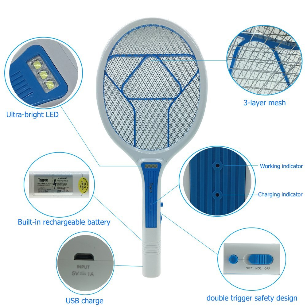 trapro electric fly swatter